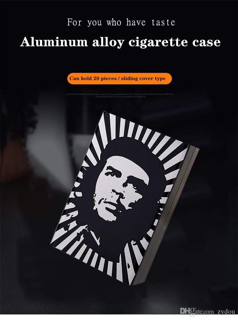 하이 엔드 사용자 정의 담배 케이스 디자이너 유명한 캐릭터 유명 아이돌 기념품 담배 케이스 슬라이드 디자인
