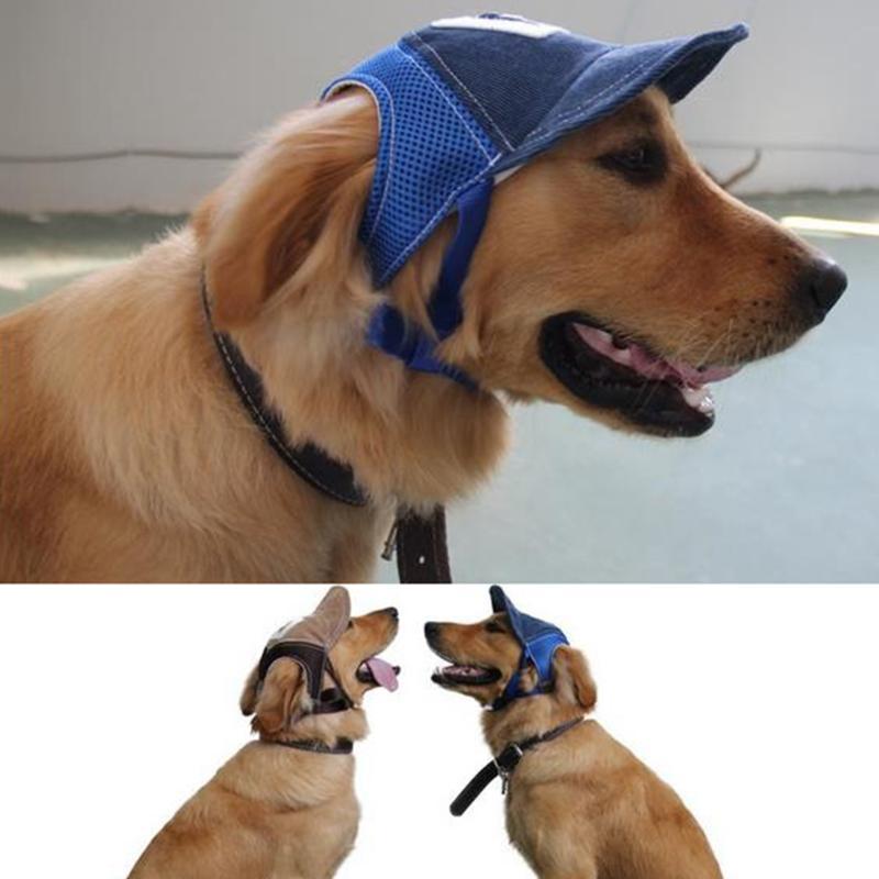 Tinghao Moda Estate Pet Dog esterna Berretto da baseball cucciolo Piccolo cappello della visiera del gatto