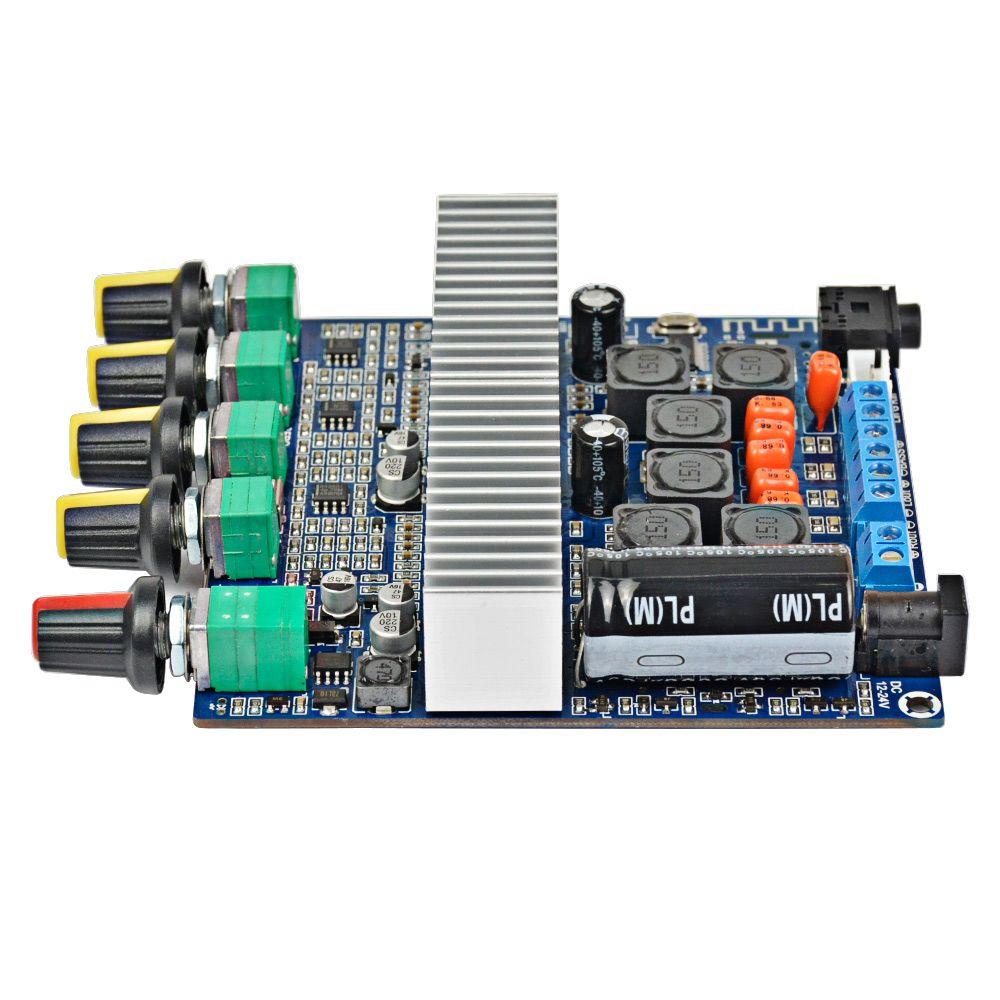 AIYIMA TPA3116 2.1 сабвуфер усилитель доска с Bluetooth 4.2 аудио усилитель доска DC12V-24V 2 * 50W+100W для динамиков музыки