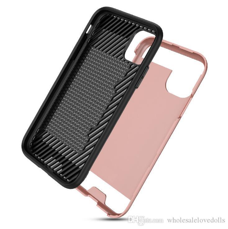 Samsung S20 Матовых карты Iphone 11 небьющегося Дело роскошь дизайнер телефона дело SmartWatch