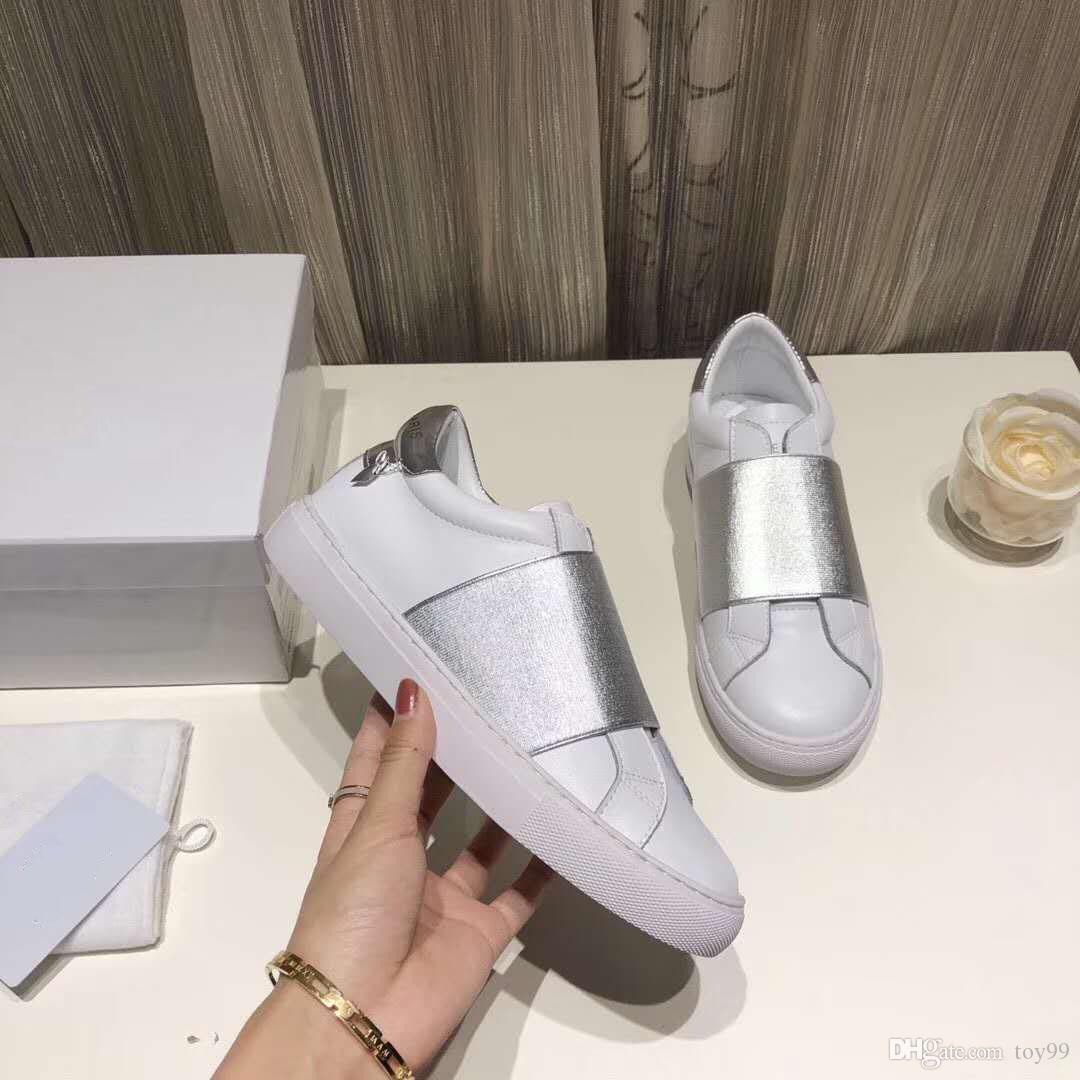 Avec Box Sneaker Casual chaussures Designer chaussures mode chaussures de sport formateurs meilleure qualité pour Unisexe Gratuit DHL Par toy99 JFX17009 21-27