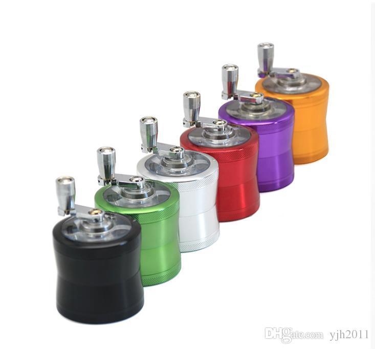 Nueva aleación de aluminio de cuatro capas Lado cóncavo lado Humo Amoladora 50 mm Multicolor Metal Amoladora