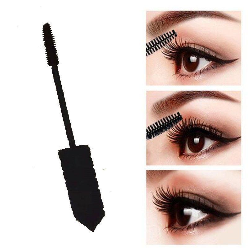 3 Styles Augen Make-up einfache Abnutzung Mascara Wasserdicht natürliche Augen Make Up Kosmetik Sex-Rosa-Schwarz-Schlauch