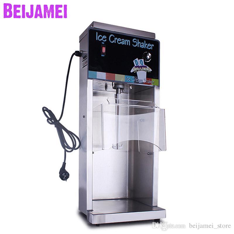BEIJAMEI 2019 Commerciale Ice cream shaker / mixer frullatore elettrico flurry ice cream maker yogurt che fa macchina