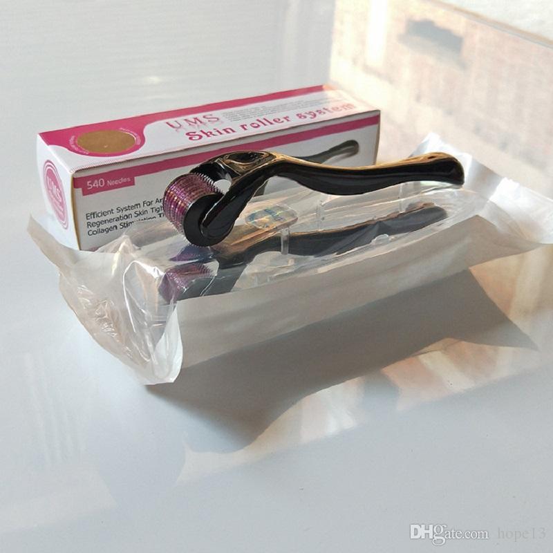 UNS DRS 540 Mikro İğneler Derma Rulo Titanyum Mezoroller Cilt Bakımı ve Gövde için Mikroneedle Dr Kalem Makinesi