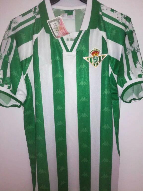 Thai Quality 90 97 Royal Betis Soccer Jerseys JUANMI JOAQUIN CANALE C. TELLO CANALES A. BARRAGAN FEKIR football shirt