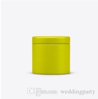 47x45mm Mini Small Tea Caddy Metal Tin Storage Boxes Candy Case Organizer Box Free Shipping