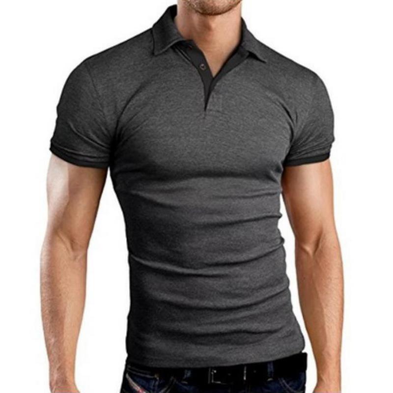 Männer Polos Masculina Shirt Männer Baumwolle Kurzarm SportsjeseysgolfTichtsnis Plus Größe Männliche Blusas Tops 3XL