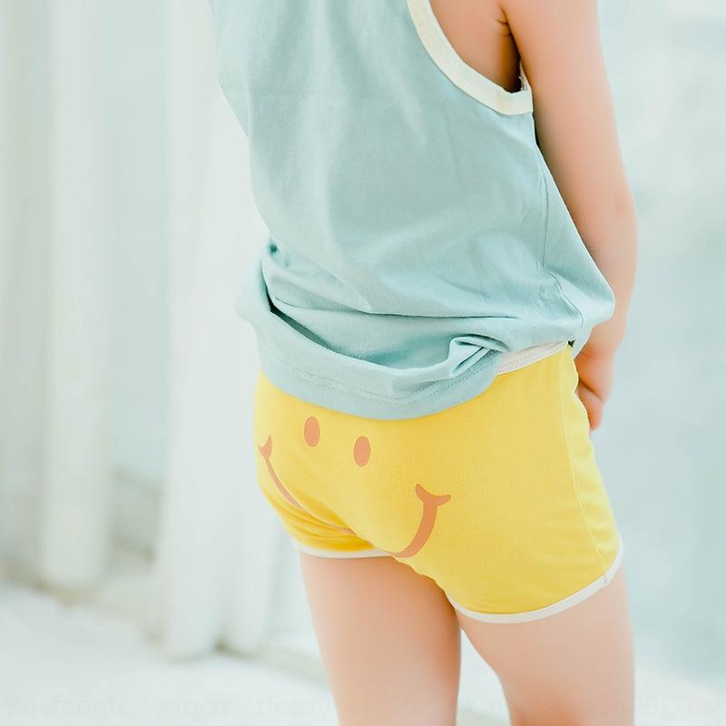 N008 Shorts and children's only one children's underwear boys and girls boxer smiley face underwear cotton boxer shorts
