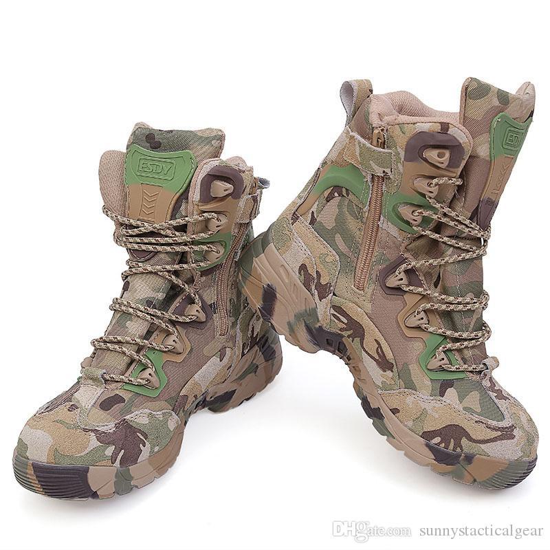 Satın Al Doğa Sporları Avcılık Piyade Walking Yürüyüş Botları Ordu  Kuvvetleri Boots Taktik Desert Combat Kamuflaj Çizme Ayakkabı Tırmanma NO09  011, TL372.38 | Tr.Dhgate.Com