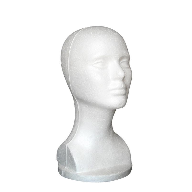 새 패션 모자 머리가 발 마네킹 스탠드 디스플레이 머리 모델