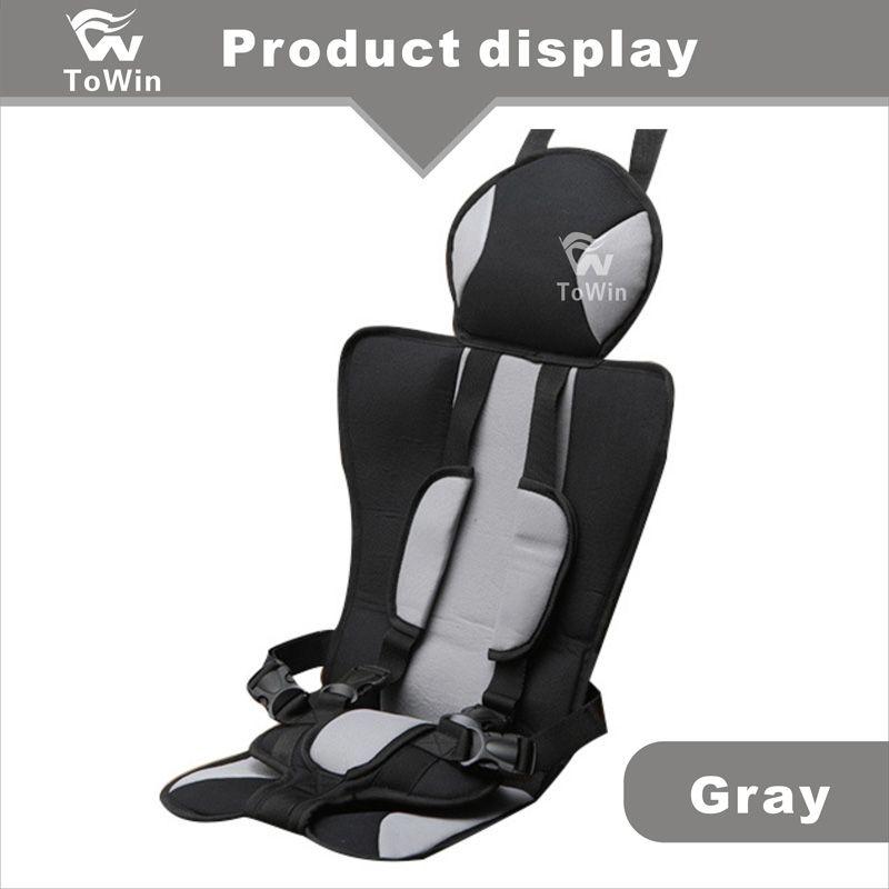 Design simples Assento Traseiro Do Carro Tampa de Assento Da Segurança Infantil Confortável Auto Veículo Interior Guarnição Proteção para Crianças Crianças Presente Atacado