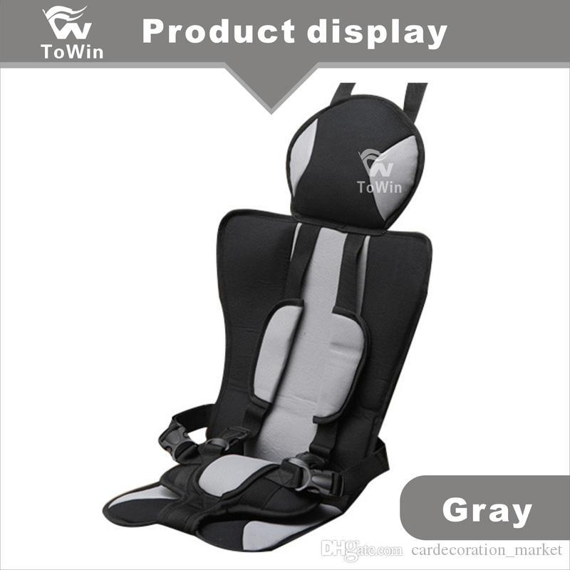 Einfaches Design Auto Rücksitz Kindersitzbezug Komfortable Auto Fahrzeuginnenverkleidung Schutz für Kinder Kinder Großhandel Geschenk