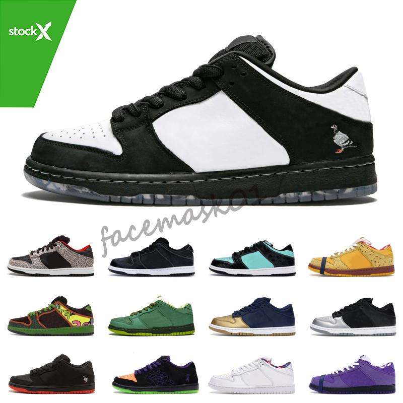 Travis Scotts SB Dunk low Designer Sneakers Diamond Raygun Tie Dye Lobster Valentine's Day Women Mens Casual Sports Shoes free shipping