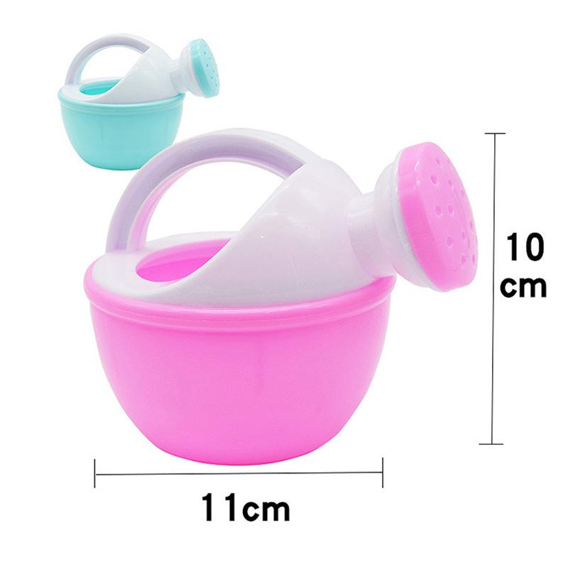 Baby Bath Toy Watering Can Childrens Beach Toys Baby Play Water Play Sand Plastic Tools Random Color
