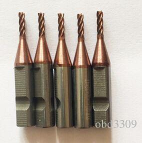 Nueva mejor calidad 3pcs / lot 4 dientes de carburo de 2,0 mm fresa fin para máquinas de corte V8 / clave X6