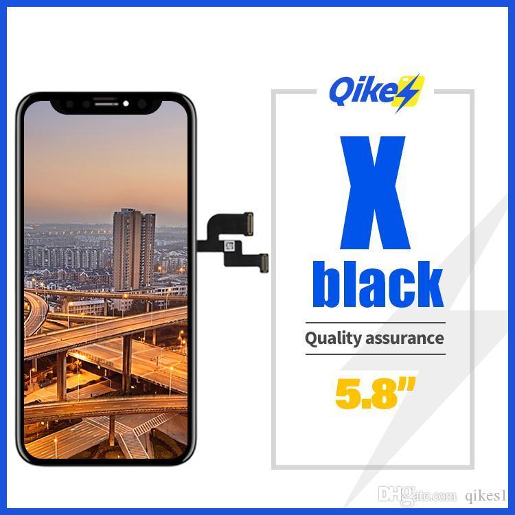 """iPhone X XS XR 10 5.8"""" LCD OLED Ekran Sayısallaştırıcı Meclisi Yedek 3D için Yeni OLED Kalite LCD Ekran"""