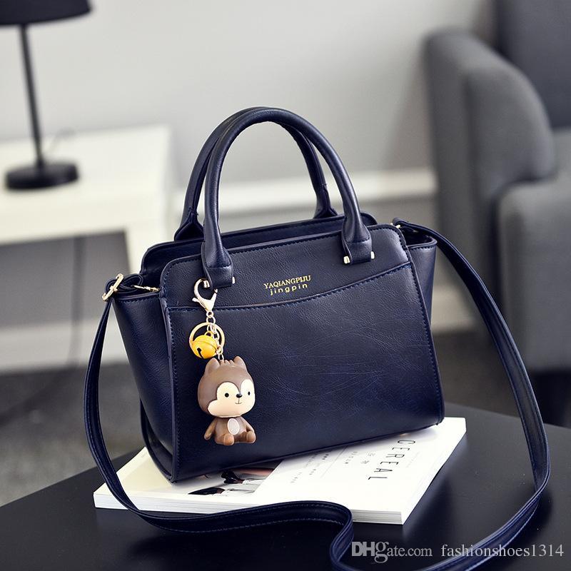 Nueva moda bolsos de trapecio bolsos de las mujeres famosas marcas Messenger Bags 2019 de alta calidad de cuero Crossbody bolsos para las mujeres pequeña bolsa de hombro