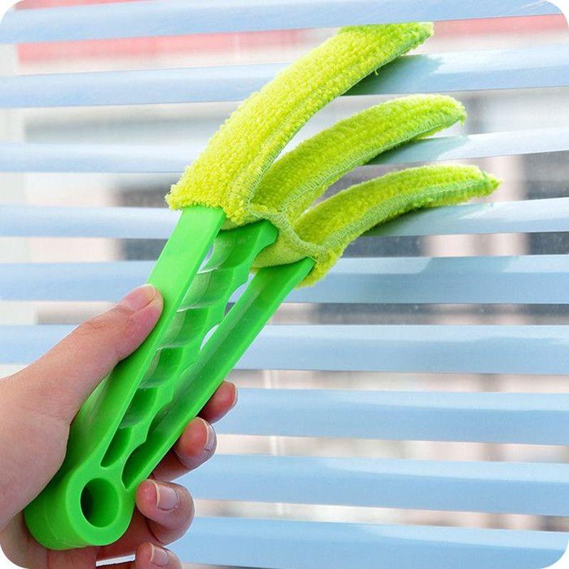 블라인드 에어 컨디셔닝 셔터 브러시 코너 갭 세척 청소 브러쉬에 대한 뜨거운 판매 다기능 청소 Brushs