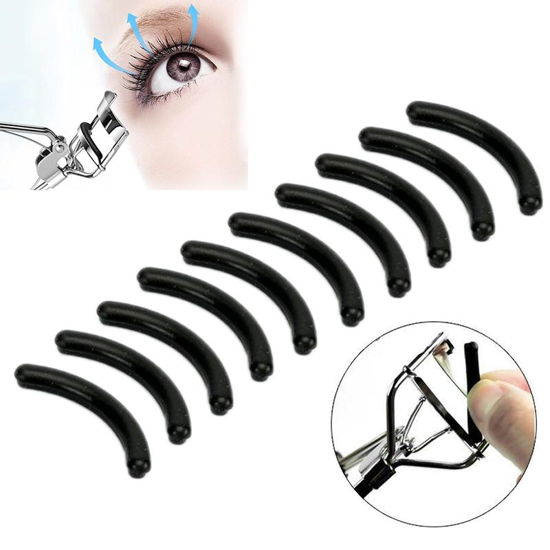 10pcs/set Eyelash Curler Replacement Pads Universal Type Curling High Elastic Rubber Pad Beauty Tool MakeUp dropshipping