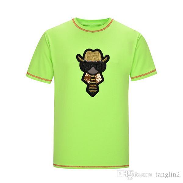 2019 T-shirt de Luxo Marca Roupas Masculino New Classic Flores Medusa T-shirt de manga curta casuais das Mulheres Cotton T-shirt Top Tamanho