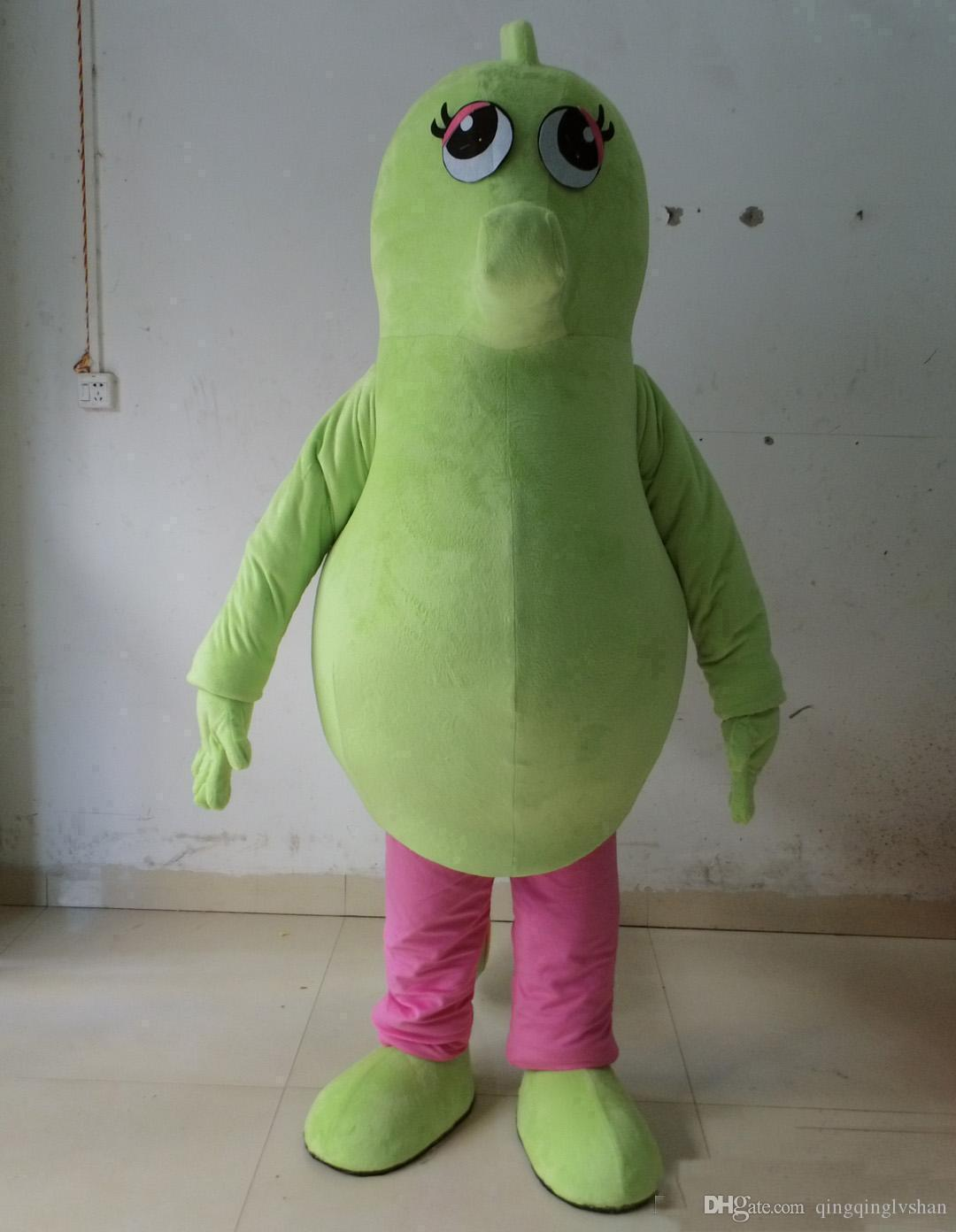 2018 Sıcak satış yeşil denizatı maskot kostümleri yetişkin hipokampi için maskot kostüm suit