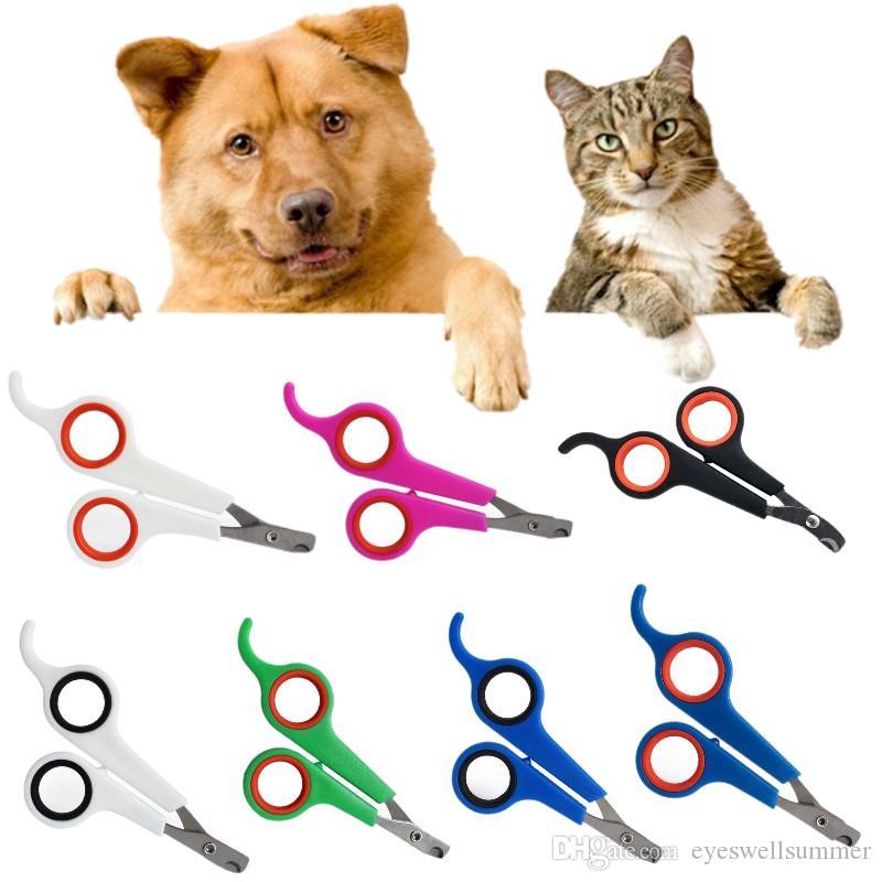 مقصات أظافر الكلاب مخلب القطط الأليفة Nailclippers إمدادت الأظافر الفولاذية مخالب تقص مقص