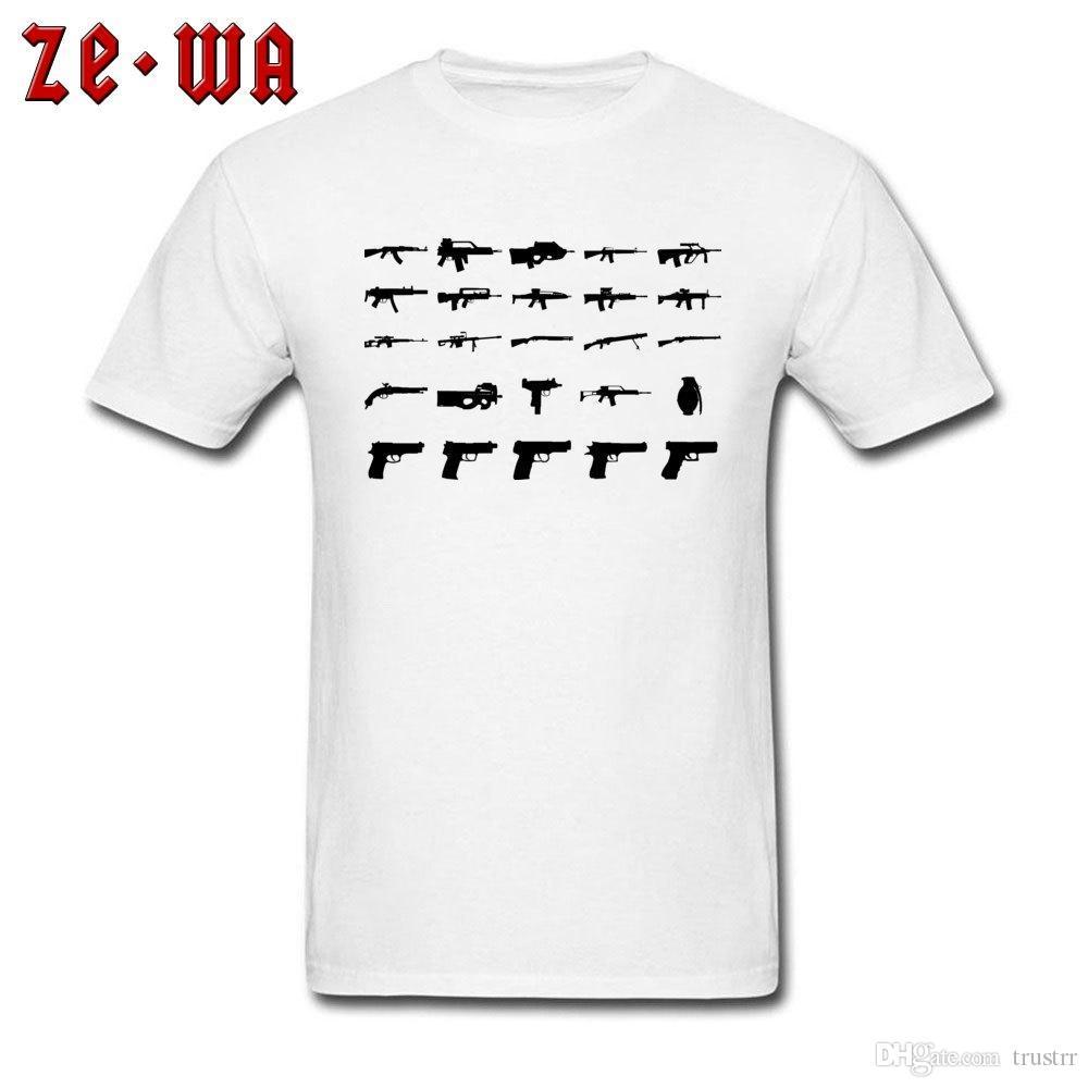 군사 t- 셔츠 남자 킬러 T 셔츠 육군 스타일 의류 성인 블랙 화이트 티셔츠 간단한면을 인쇄 선물 티 무료 배송 탑