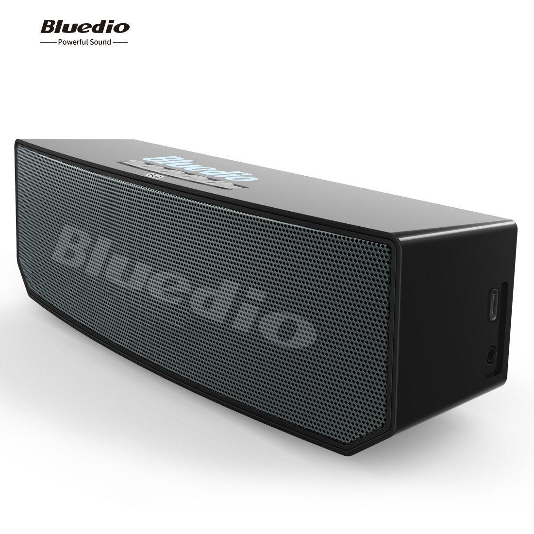 Satın Al YENİ Bluedio BS 5 Taşınabilir 3D Stereo Müzik Bluetooth Hoparlör  Mini Stereo Yüksek Güçlü Subwoofer Araba Ücretsiz Nakliye, TL518.25