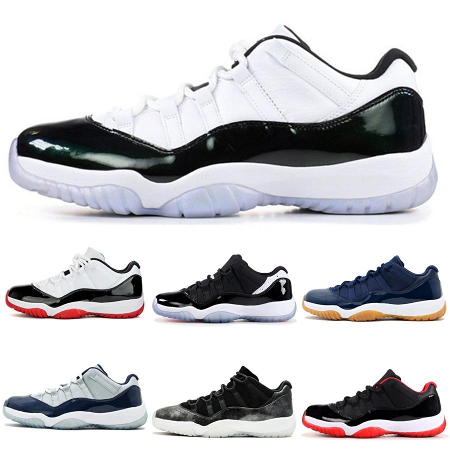 1 11S Jumpman Hommes Hommes Basketball Chaussures Black Gold Toe Top 3 Mid Bred Chaussures Designer multi 11 Banned vert # 268 Sport Sneakers