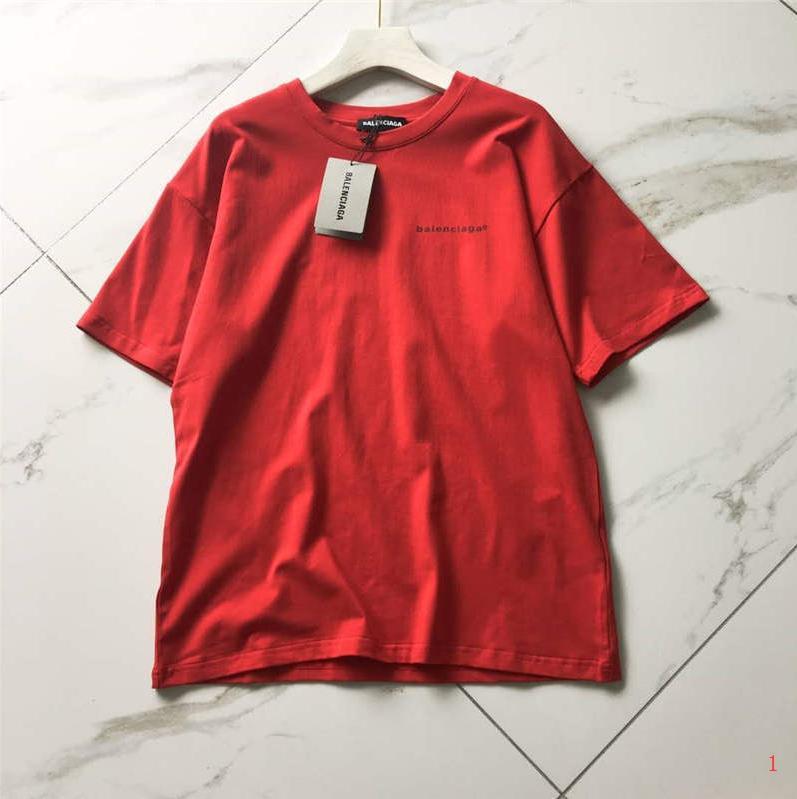 Женщины дизайнер футболки бренд тройники сплошной цвет буквы печатные короткие рукава шаблон назад стиль роскошные топы L0g0 девушка футболки LR200402