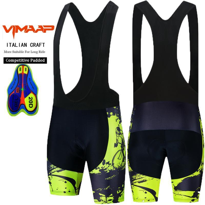 Wear VIMAAP Whole Preto Bicicleta Calções Homens Outdoor Bike Cycling 20D Coolmax Gel acolchoado equitação Calções Ciclismo
