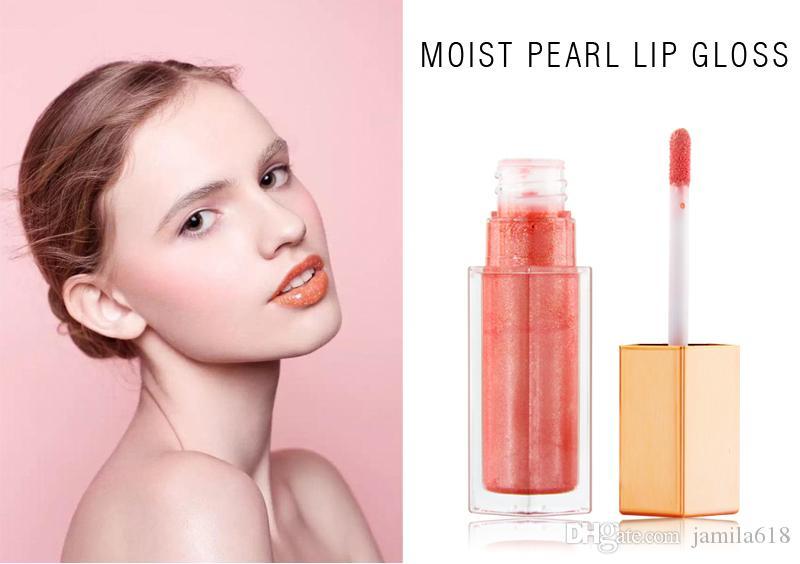 Nessuna etichetta Impermeabile Cosmetic Long lasting Glossy Lip Gloss Deep Idratize Lip Gloss Rossetto Shiny Shimmer Makeup Rossetto Lip Gloss