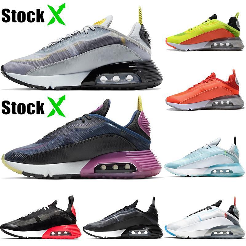 Sıcak Yeni 2090 Kurt Gri Siyah Üzüm Kamuflaj Foton Toz Saf Platin Eğitmenler Minder Sneakers Toptan Duck Kadınlar Erkekler için Ayakkabı Koşu
