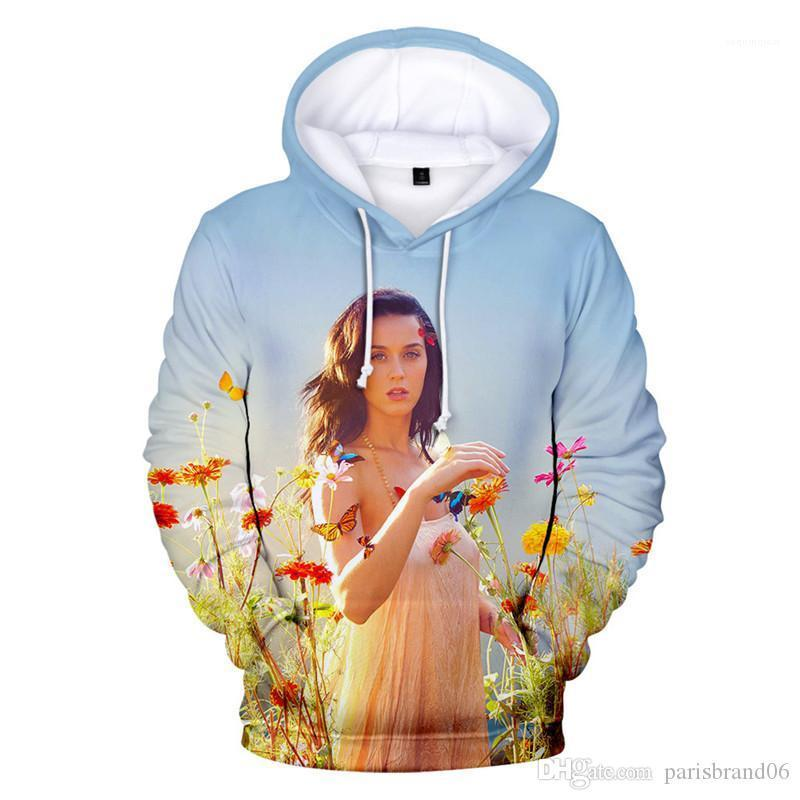 Automne 3D Imprimé en vrac Sweats à capuche 4XL Casual Pull Mens Apparel Katy Perry Mens Designer Hoodies Spring