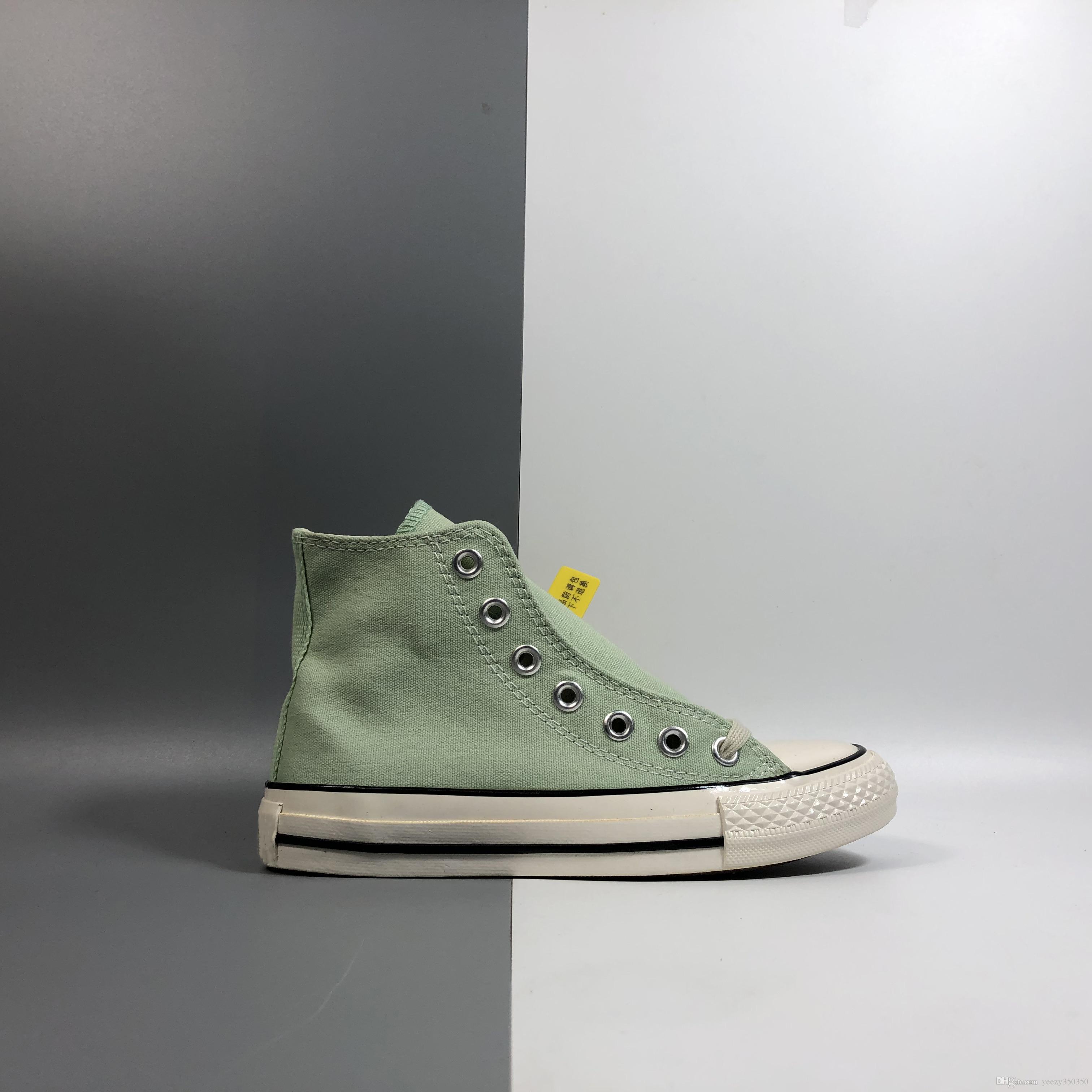 2020 nuevas ventas limitadas de ALL STAR HI localizar 18AW zapatillas de baloncesto se divierte para hombre zapatillas de deporte casuales de alta calidad tamaño 35-44 menta verde