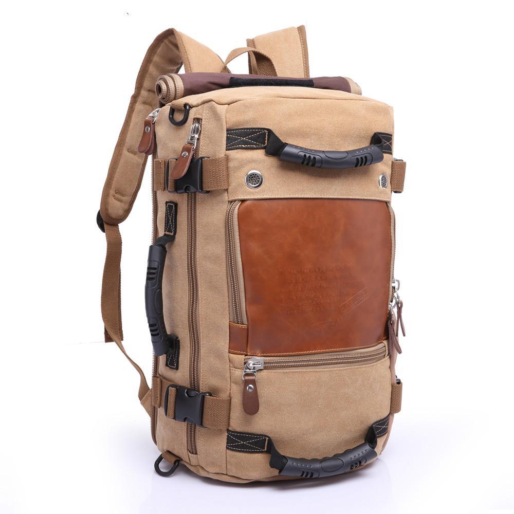 브랜드 세련된 여행 대용량 배낭 남자 짐 숄더 백 컴퓨터 배낭 남자 기능성 다목적 가방
