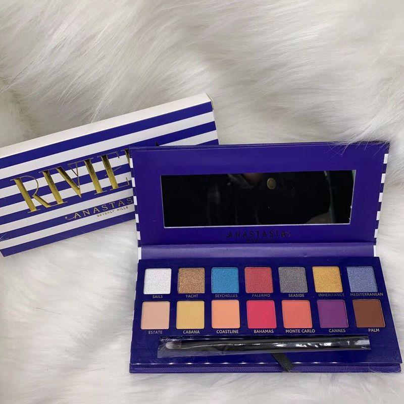 2019 Anastasia Riviera Paleta De Sombras De Ojos Es Nueva Anastasia Beverly Hills Sombras De Ojos Maquillaje Brillante Paletas De Maquillaje Por