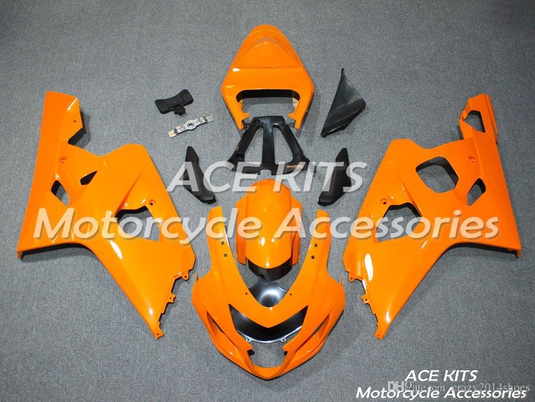 New ABS motorcycle Fairing Kits 100% Fit For Suzuki GSXR600 GSXR750 2004 2005 600 750 04 05 K4 All sorts of color NO.A4