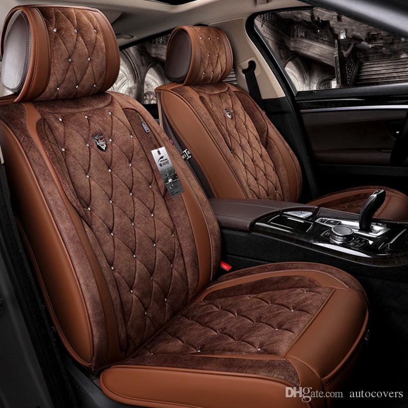 صالح العالمي لزينة السيارات مقعد يغطي على 5 مقاعد سيارة شحن مجاني أعلى نوعية الجلود دائم خمسة مقاعد لشاحنة SUV السودان فورد BMW