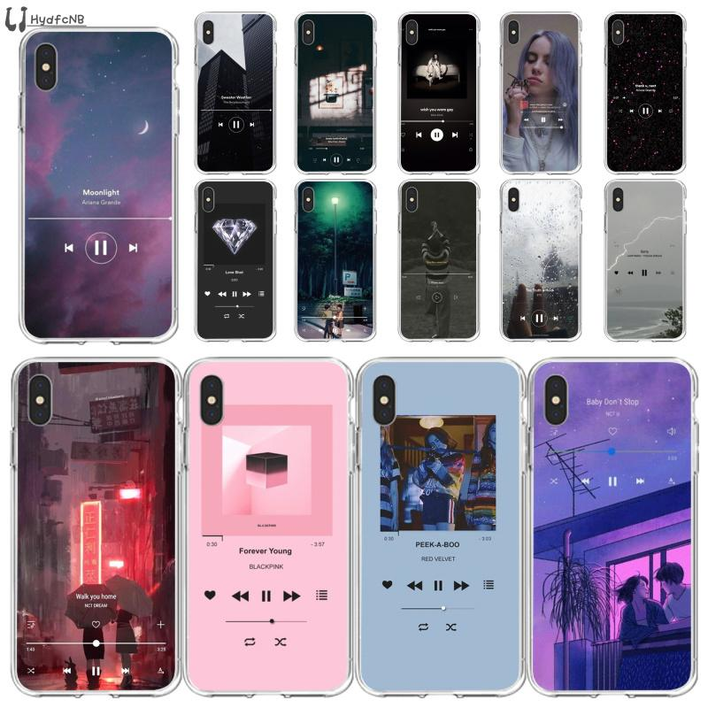 2020 Music Wallpaper High Quality Silicone Phone Case For Iphone 11 Pro Xs Max 8 7 6 6s Plus X 5 5s Se Xr Cover Wholesale Personalized Cell Phone Case Waterproof Cell