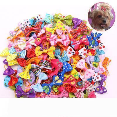 B Büyük İndirim Noel Pet Köpek Saç Yaylar ilmek saç tokası kafa çiçek Pet Bakım Tatil Köpek Aksesuarları Malzemeleri