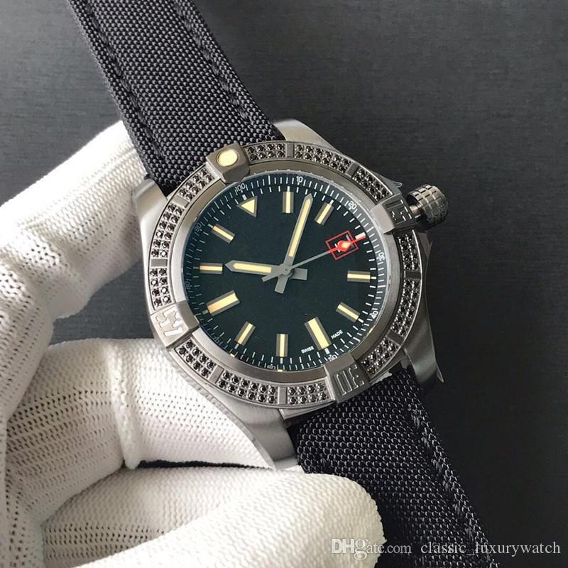Dura montre de luxe Originale Cassa Del Metallo di titanio con il diamante nero super leggero orologio da uomo di vendita caldo 44mm eta2824 movimento