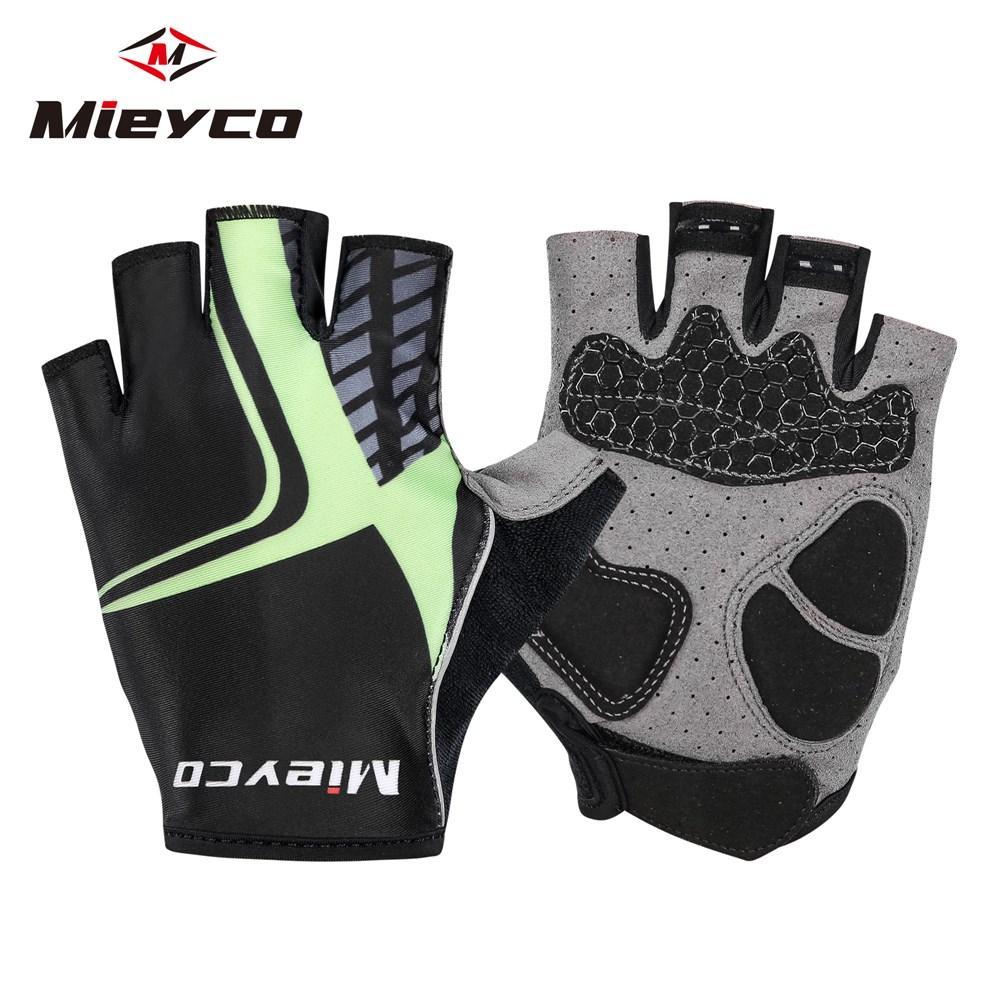 Mieyco половина пальца Велоспорт перчатки противоскользящие гель палец перчатки езда на велосипеде перчатки MTB дорога горный велосипед перчатки Спорт ciclismo гоночная одежда