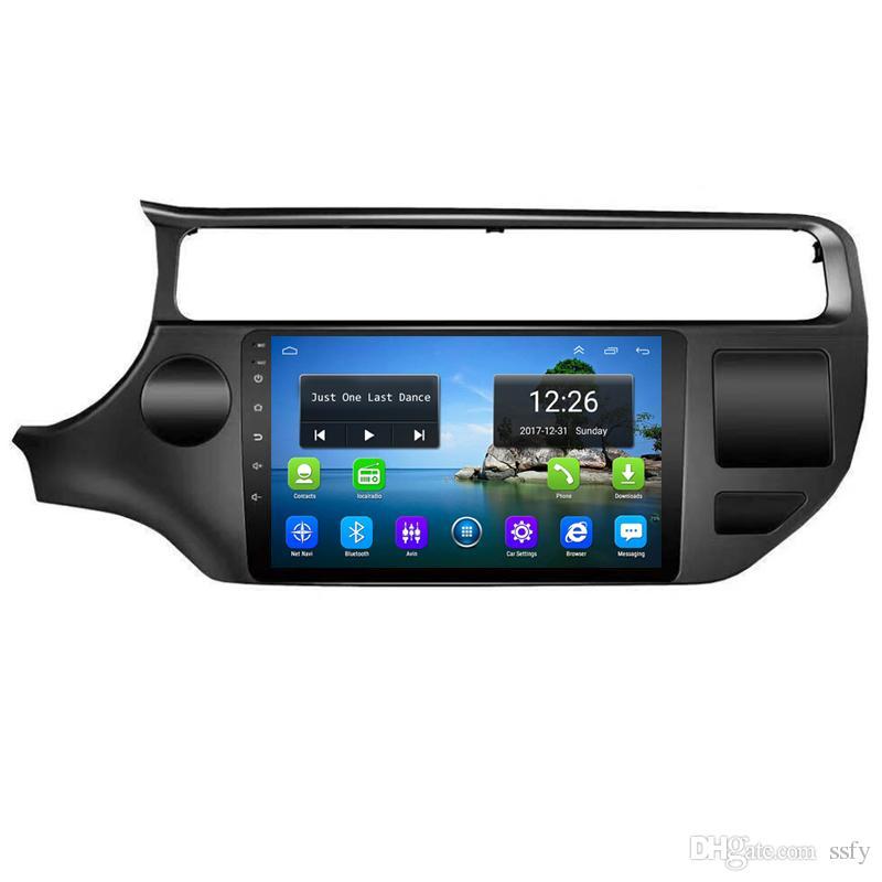 Android 4G LTE HD 1080p voiture MP3 musique résolution HD affichage résolution 1024 * 600 USB pour KIa vieux rio sud amérique Moyen-Orient
