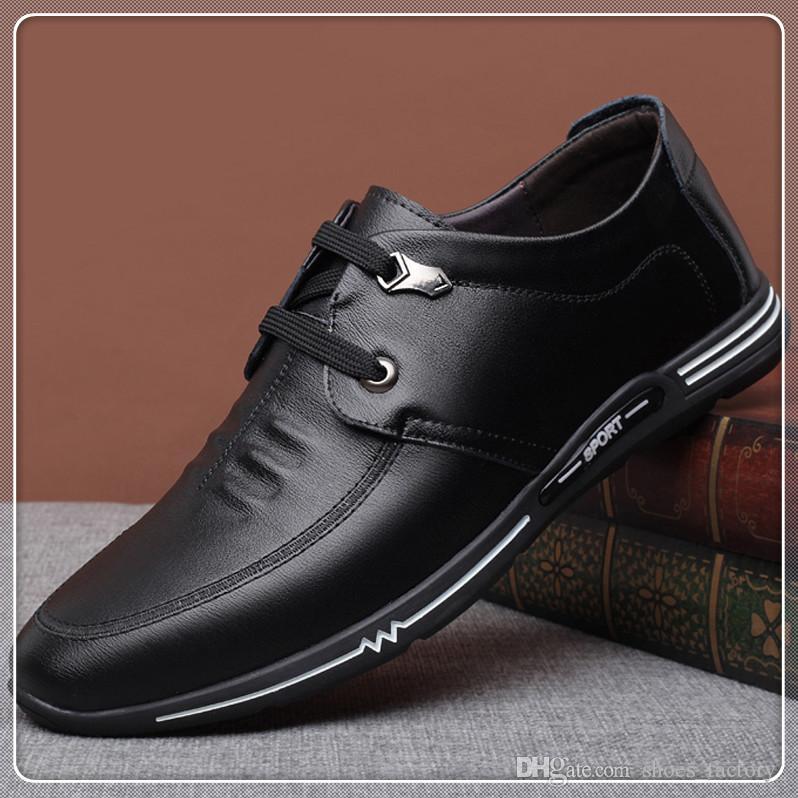 size167 Neue Angekommene Hochzeit und Party Schuhe Neue Mode Leder Männer Schuhe Mokassin Männer Müßiggänger Marke schuhe stickerei mode für männer leathe