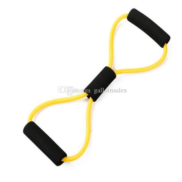 8 типов спортивные аксессуары полосы сопротивления стрейч трубки фитнес тренировки Упражнения для йоги обучение спорт RTB001