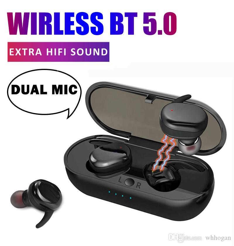 Tws 4 5 0 Mini Bluetooth Earphone Sports Wireless Earbuds With Super Bass Touch Control Headphones For Smartphones Headset For Cell Phones Wireless Cell Phone Headphones From Whhogan 7 54 Dhgate Com
