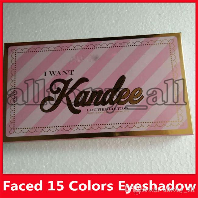 I Want Kandee Eyeshadow Palatte Limited Edition CANDY EYE EYESHADOW PALETTE 15 Colors Eyeshadow Palatte free shipping