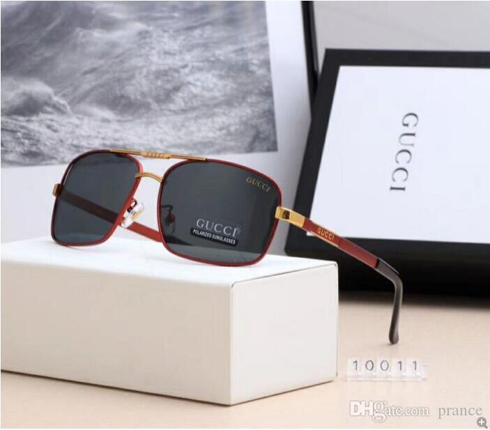 2020 Lüks Moda Tasarımcıları Erkekler Kadınlar Cam Lensler UV Koruma Güneş gözlüğü 24 için Büyük Metal Güneş Gözlükleri